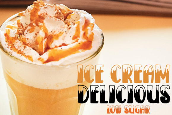 Print on Demand: Ice Cream SodaWater Display Font By edwar.sp111 - Image 3