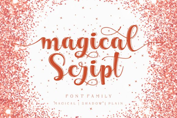 Print on Demand: Magical Script Script & Handwritten Font By Lone Army - Image 1