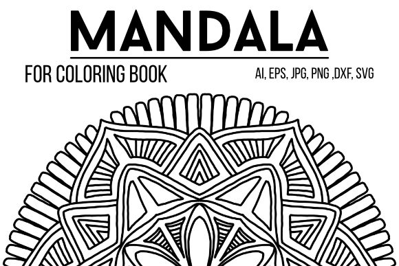 Print on Demand: Mandala Design 42 Graphic Coloring Pages & Books Adults By stanosh