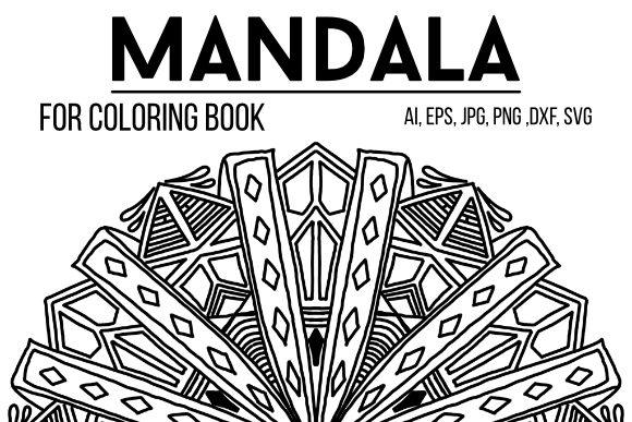 Print on Demand: Mandala Design 43 Graphic Coloring Pages & Books By stanosh