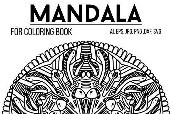 Download Free Mandala Design 48 Graphic By Stanosh Creative Fabrica for Cricut Explore, Silhouette and other cutting machines.