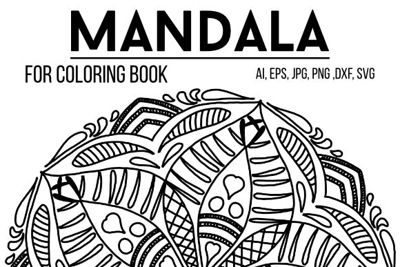 Print on Demand: Mandala Design 49 Graphic Coloring Pages & Books By stanosh
