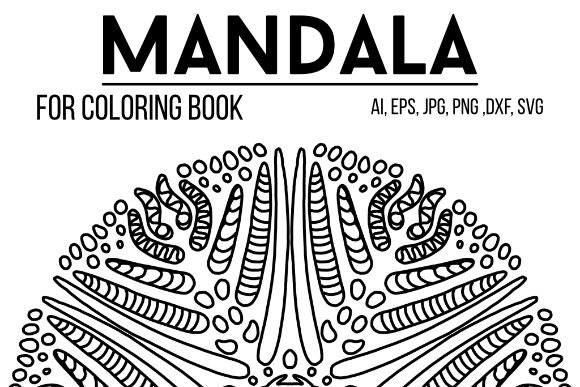 Print on Demand: Mandala Graphics 41 Graphic Coloring Pages & Books By stanosh