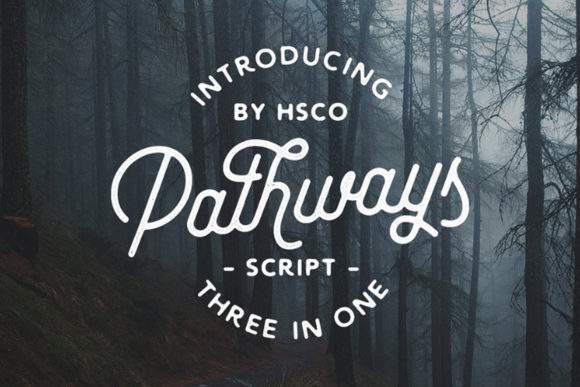 Print on Demand: Pathways Script & Handwritten Font By Hustle Supply Co.