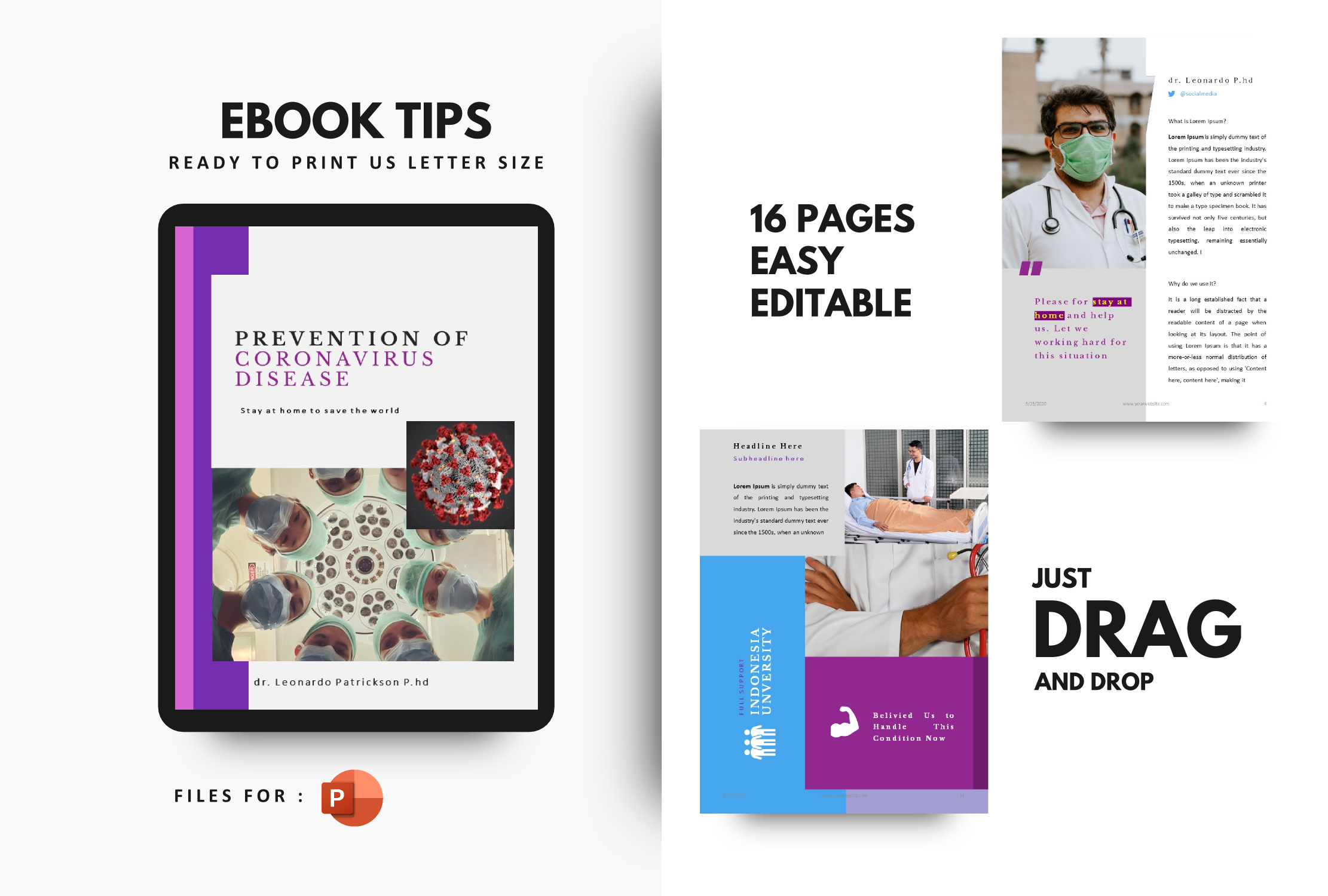 Download Free Prevention Of Coronavirus Disease Ebook Graphic By Rivatxfz for Cricut Explore, Silhouette and other cutting machines.