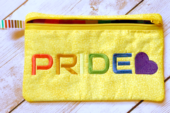 Pride LGBTQIA Awareness Embroidery Design By DesignedByGeeks - Image 1