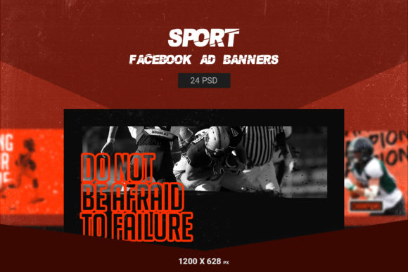 Sport Facebook Ads Banners Graphic Web Elements By qohhaarqhaz