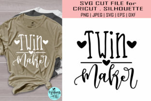 Download Free Twin Maker Mom Life Graphic By Midmagart Creative Fabrica for Cricut Explore, Silhouette and other cutting machines.