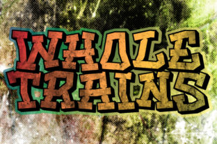 Print on Demand: Whole Trains Blackletter Font By qkila 1