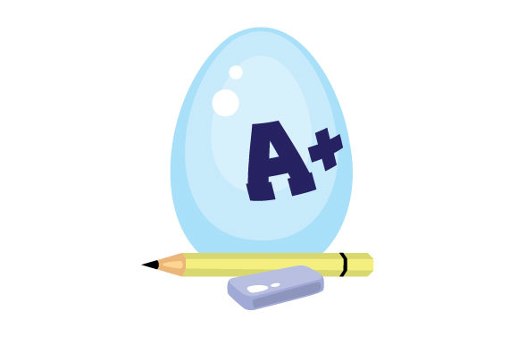 Download Free School Easter Egg Svg Cut File By Creative Fabrica Crafts for Cricut Explore, Silhouette and other cutting machines.