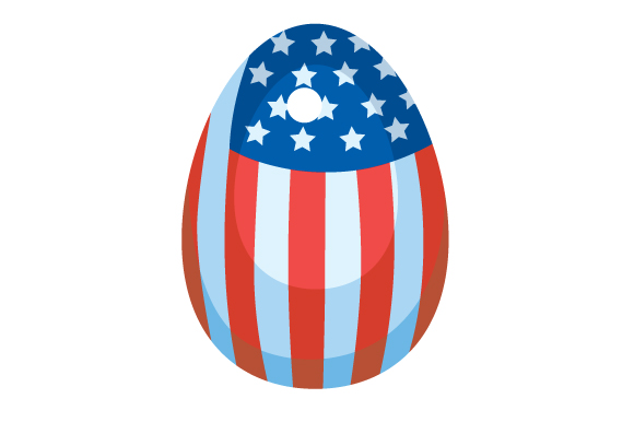 Download Free American Easter Egg Svg Cut File By Creative Fabrica Crafts for Cricut Explore, Silhouette and other cutting machines.