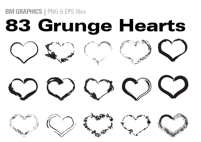 Download Free 83 Grunge Hearts Graphic By Graphicsbam Fonts Creative Fabrica for Cricut Explore, Silhouette and other cutting machines.