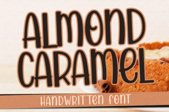 Print on Demand: Almond Caramel Script & Handwritten Font By dmletter31