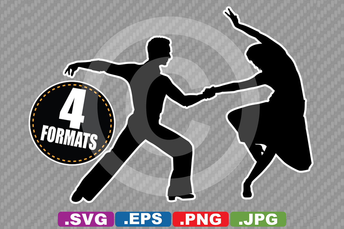 Download Free Ballroom Dancing Silhouette Graphic By Idrawsilhouettes for Cricut Explore, Silhouette and other cutting machines.