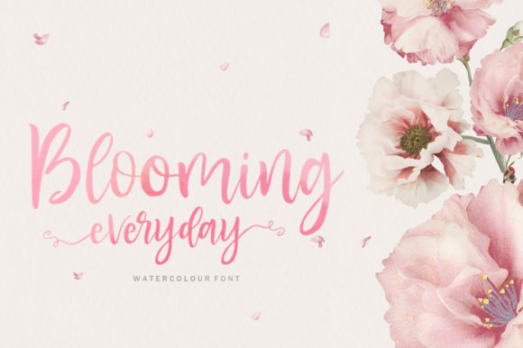 Print on Demand: Blusher Script & Handwritten Font By Youngtype - Image 3