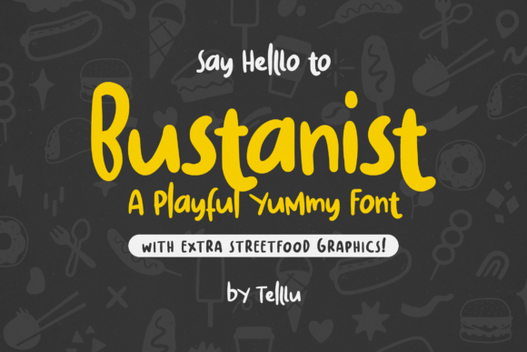 Print on Demand: Bustanist Sans Serif Font By Telllu