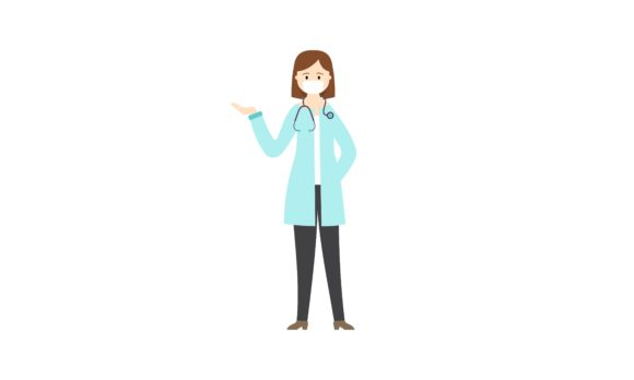 Download Free Doctor Wear Mask In Different Character Graphic By Deemka Studio for Cricut Explore, Silhouette and other cutting machines.