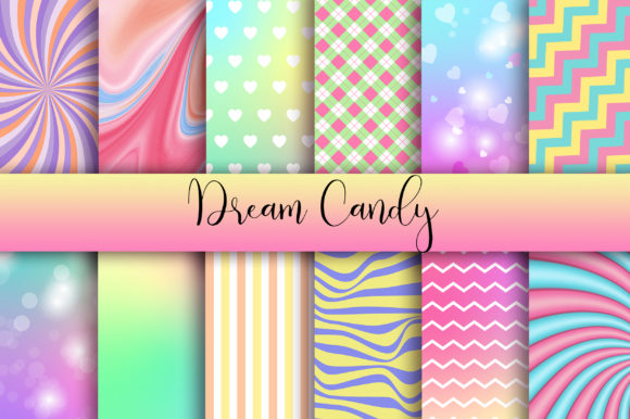Dream Candy Background Graphic Backgrounds By PinkPearly