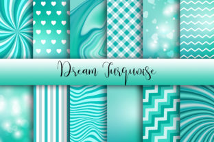 Dream Turquoise Background Graphic Backgrounds By PinkPearly