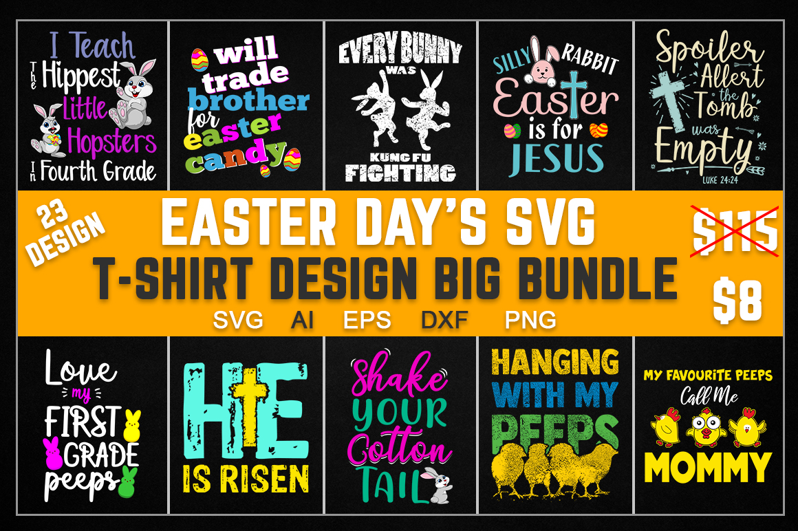 Download Free Easter Day Big Bundle Graphic By Aartstudioexpo Creative Fabrica for Cricut Explore, Silhouette and other cutting machines.