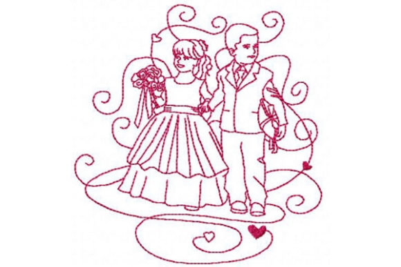 Enchanted Wedding Wedding Family Embroidery Design By Sue O'Very Designs