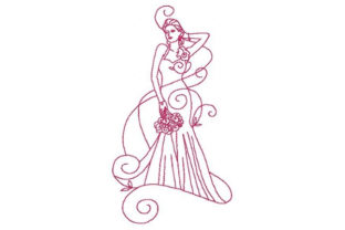 Enchanted Wedding Wife Embroidery Design By Sookie Sews