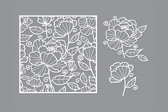 Print on Demand: Flower   Graphic Crafts By MeshaArts