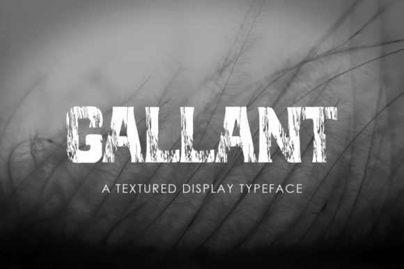 Print on Demand: Gallant Display Font By Green Adventure Studio