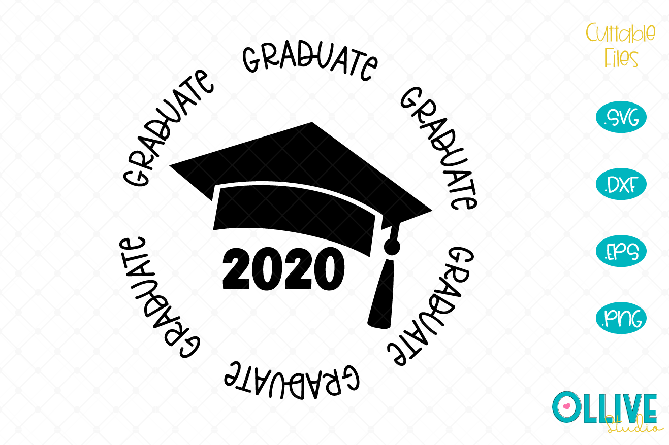 Download Free Graduate 2020 Graphic By Ollivestudio Creative Fabrica for Cricut Explore, Silhouette and other cutting machines.