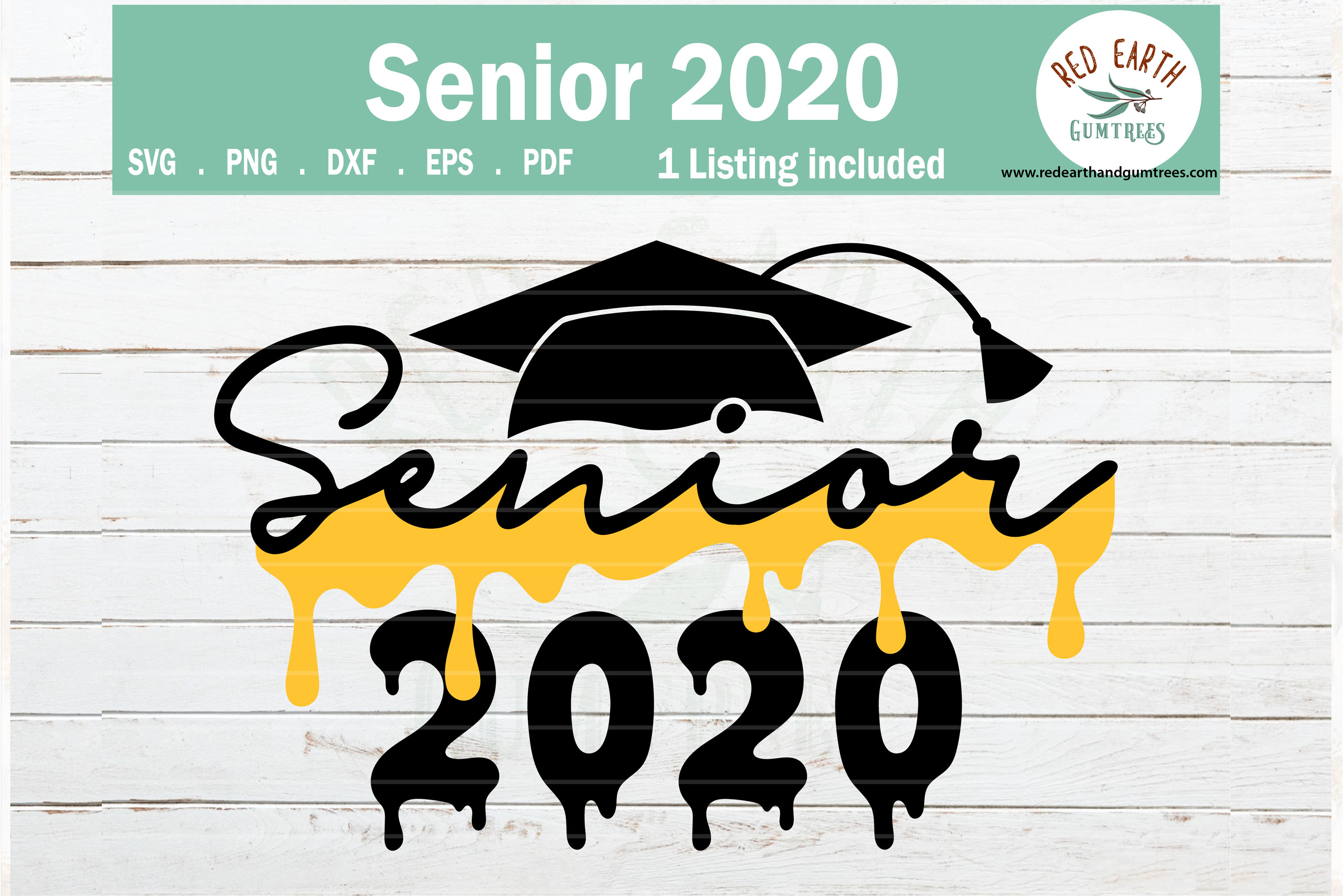 Download Free Graduation Class Of 2020 Senior 2020 Graphic By Redearth And for Cricut Explore, Silhouette and other cutting machines.