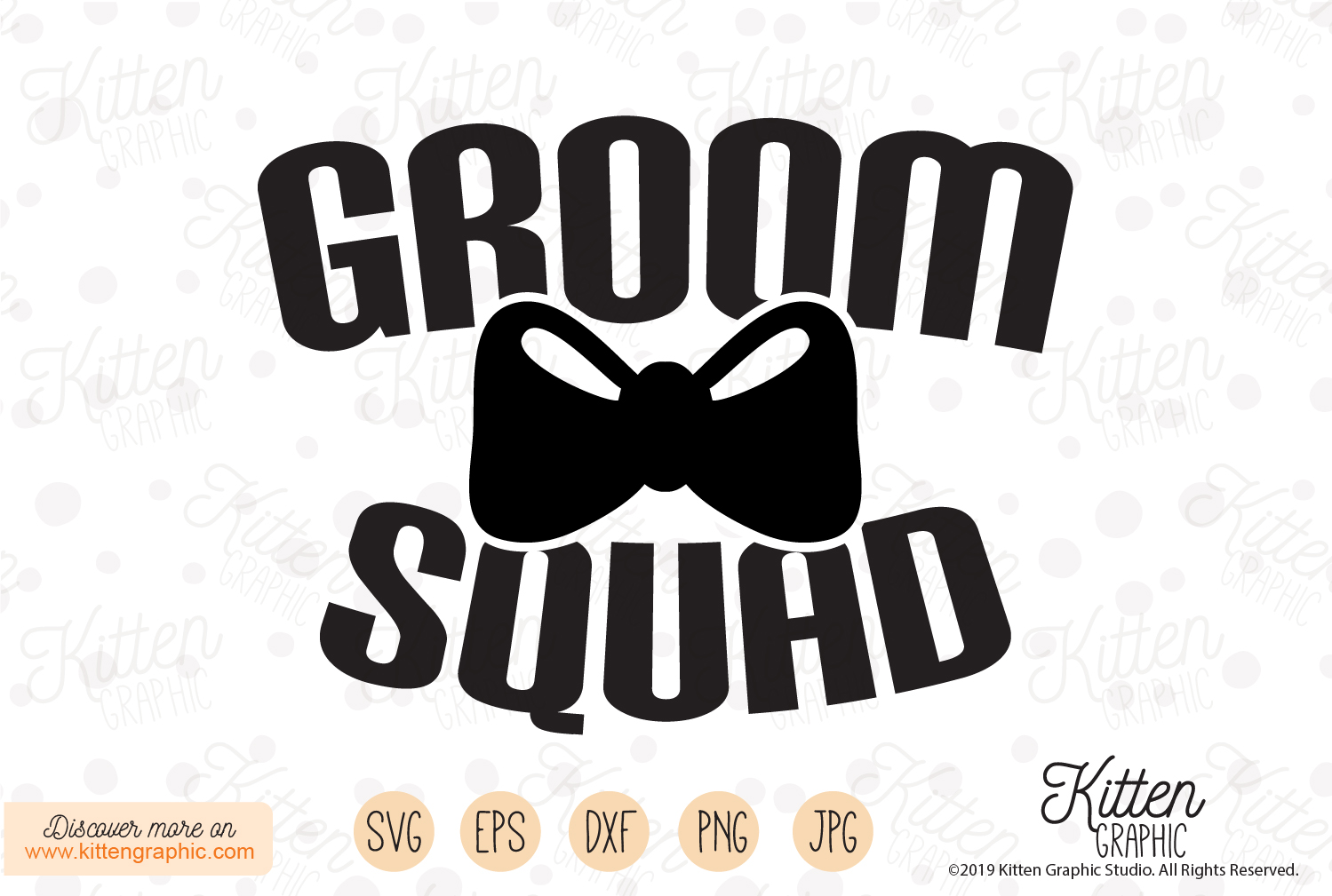 Download Free Groom Squad Grafico Por Kittengraphicstudio Creative Fabrica for Cricut Explore, Silhouette and other cutting machines.
