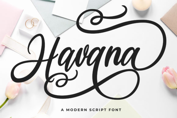 Print on Demand: Havana Script & Handwritten Font By Fallengraphic