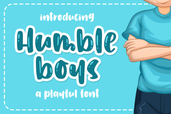 Print on Demand: Humble Boys Script & Handwritten Font By Abodaniel
