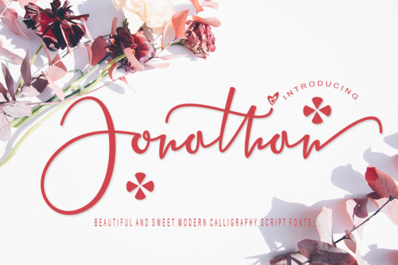 Print on Demand: Jonathan Script & Handwritten Font By studioad56