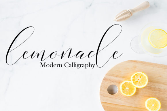 Print on Demand: Lemonade Script & Handwritten Font By Gam Studio