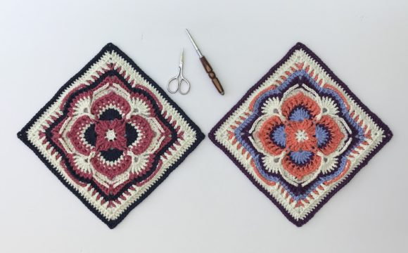Olivia Grace Afghan Square Graphic Crochet Patterns By AYarnofSerendipity - Image 1