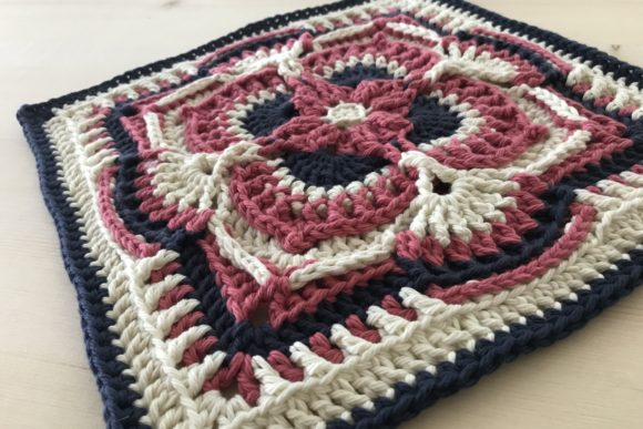 Olivia Grace Afghan Square Graphic Crochet Patterns By AYarnofSerendipity - Image 2