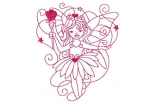 Princess Fairy Fairy Tales Embroidery Design By Sookie Sews