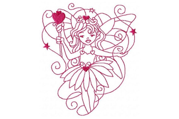 Princess Fairy Fairy Tales Embroidery Design By Sue O'Very Designs