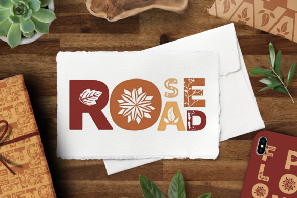Print on Demand: Rose Road Display Font By arausidp - Image 1