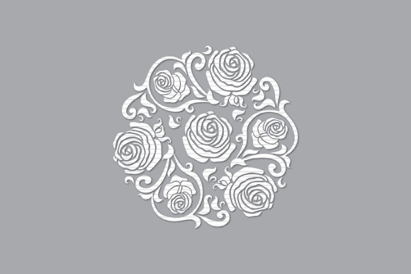 Print on Demand: Rose  Graphic Crafts By MeshaArts
