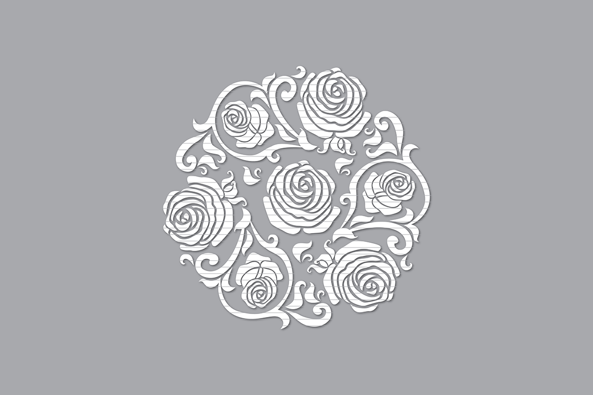 Download Free Rose Graphic By Meshaarts Creative Fabrica for Cricut Explore, Silhouette and other cutting machines.