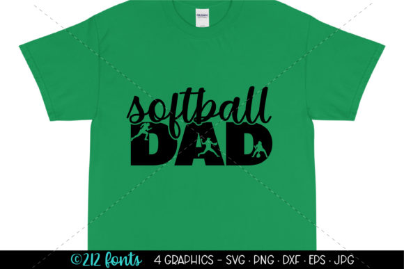 Download Free Softball Mom Dad Bro And Sis Graphics Graphic By 212 Fonts for Cricut Explore, Silhouette and other cutting machines.