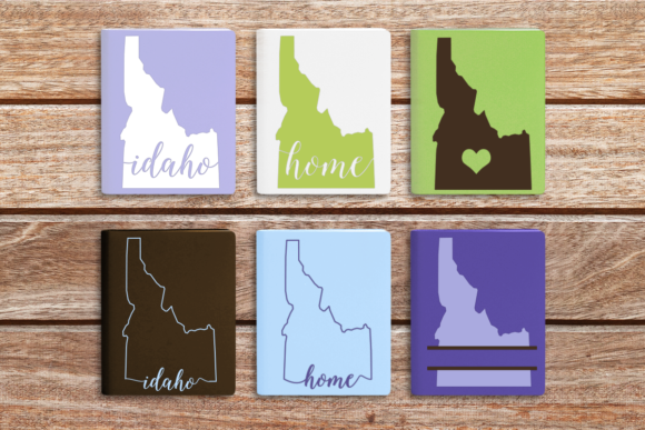 State of Idaho Graphic Crafts By DesignedByGeeks