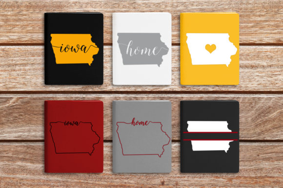 State of Iowa Graphic Crafts By DesignedByGeeks