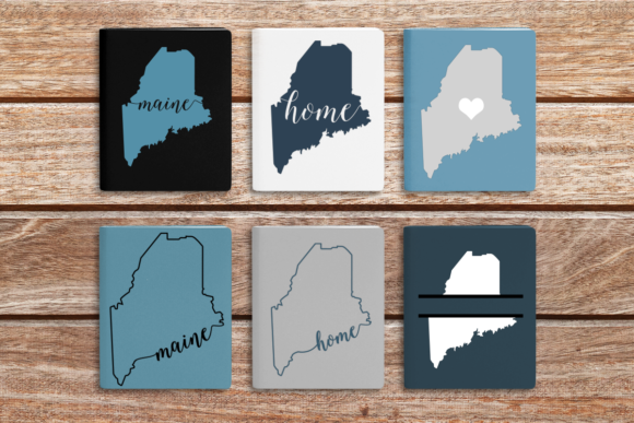 State of Maine Graphic Crafts By DesignedByGeeks