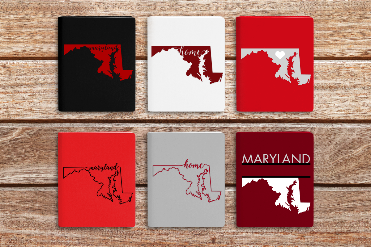 State Of Maryland Graphic By Designedbygeeks Creative Fabrica