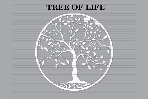 Print on Demand: Tree of Life Graphic Crafts By MeshaArts