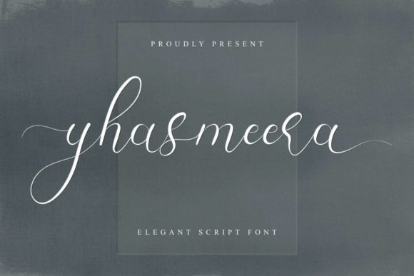 Print on Demand: Yhasmeera Script & Handwritten Font By EdricStudio