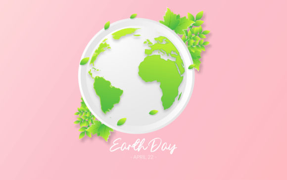 Download Free Happy Earth Day Design Graphic By Ngabeivector Creative Fabrica for Cricut Explore, Silhouette and other cutting machines.